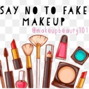 "Say ""NO"" To Fake Makeup , DO UR RESEARCH!"